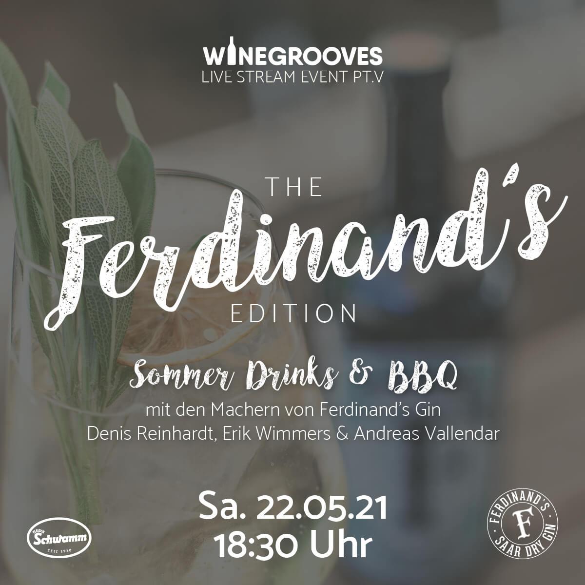 Ferdinand's Summer Drinks Pakete